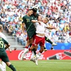 ЧМ-2018: Дания и Австралия сыграли вничью