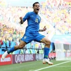 Филиппе Коутиньо признан лучшим футболистом матча Бразилия - Коста-Рика