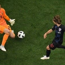 Лука Модрич стал лучшим игроком матча Аргентина - Хорватия