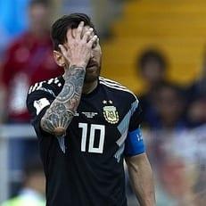 Впервые в истории Аргентина не побеждает на чемпионатах мира четыре матча