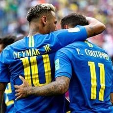 Коутиньо и Неймар приносят победу Бразилии над Коста-Рикой