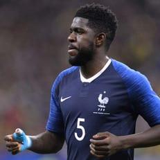 Самюэль Умтити пропустит пятничную тренировку сборной Франции