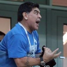 """Марадона: """"Аргентина не знает, во что она играет, у нее нет плана"""""""