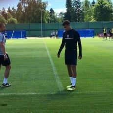 Деле Алли вернулся к тренировкам сборной Англии