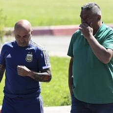 Президент аргентинской федерации посетил расположение сборной