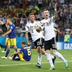 Марко Ройс признан лучшим игроком матча Германия - Швеция