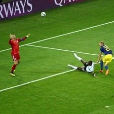 Ола Тойвонен забил свой первый гол на чемпионате мира