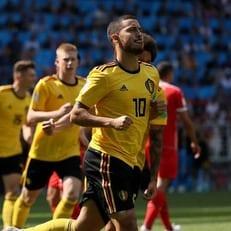 ЧМ-2018: Бельгия уверенно обыграла Тунис