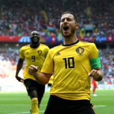 Азар признан лучшим игроком матча Бельгия – Тунис
