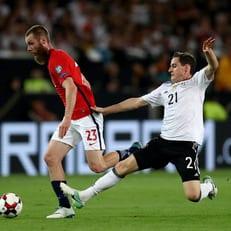 Себастьян Руди получил травму в игре против Швеции