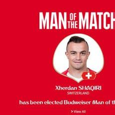 Джердан Шакири - игрок матча Сербия - Швейцария