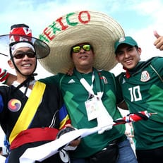 ЧМ-2018: стартовые составы Южной Кореи и Мексики
