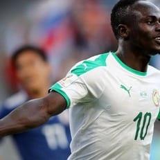 Садьо Мане - лучший игрок матча Япония - Сенегал