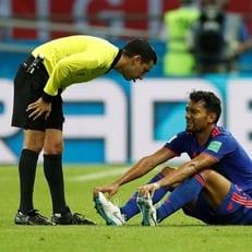 Абель Агилар получил травму в матче против Польши