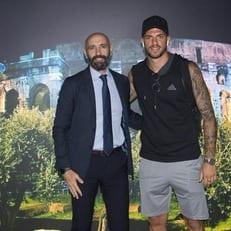 """Давиде Сантон сегодня прибыл в Рим для подписания контракта с """"Ромой"""""""