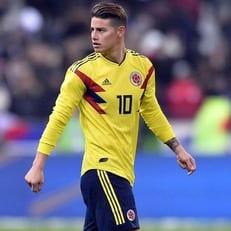 Хамес Родригес - лучший игрок матча Польша - Колумбия