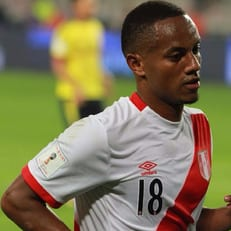 Андре Каррильо признан лучшим игроком матча Австралия - Перу