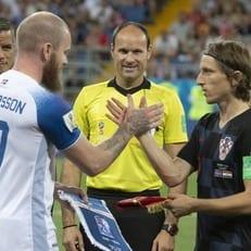ЧМ-2018: Хорватия одолела Исландию и вышла в плей-офф Мундиаля