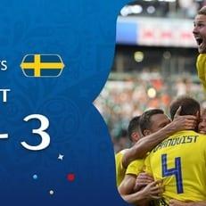 ЧМ-2018: Швеция обыграла Мексику и вышла в 1/8 финала