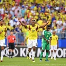 Йерри Мина признан лучшим игроком матча Сенегал - Колумбия