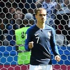 Антуан Гризманн забил 6 голов в 5 последних матчах плей-офф на ЧМ и Евро