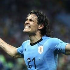 Эдинсон Кавани - лучший игрок матча Уругвай - Португалия