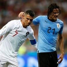 Эдинсон Кавани получил травму в матче против сборной Португалии