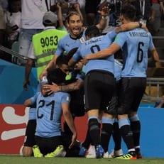 ЧМ-2018: Уругвай обыграл Португалию и вышел в 1/4 финала