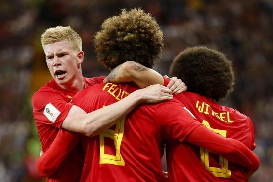 Насер Шадли принес победу сборной Бельгии