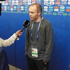 Андрес Иньеста подтвердил, что завершил карьеру в сборной Испании