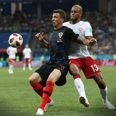 ЧМ-2018: Хорватия прошла Данию в серии послематчевых пенальти