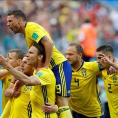 ЧМ-2018: Швеция минимально обыграла Швейцарию