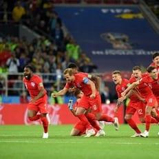 Англия впервые в истории выиграла серию пенальти на ЧМ