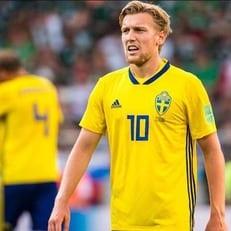 Эмиль Форсберг – лучший игрок матча Швеция – Швейцария