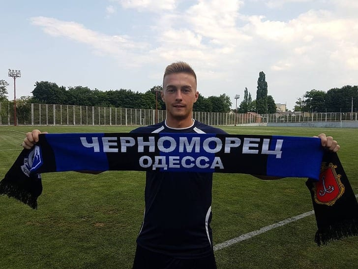 Дмитрий Норенков, chernomorets.odessa.ua