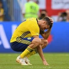 Маркус Берг нанес 15 ударов по воротам и ни разу не забил на ЧМ-2018