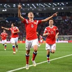 Черышев забил 4-й гол на ЧМ-2018 за Россию