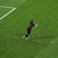 Лука Модрич - лучший игрок матча Россия - Хорватия