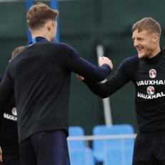 Хендерсон и Варди вернулись к тренировкам сборной Англии