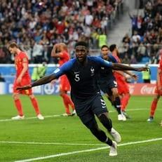 Впервые с 1998 года три защитника сборной Франции забили на ЧМ