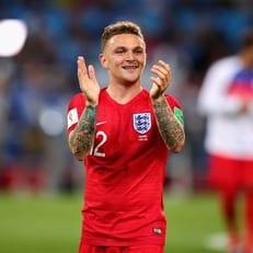 Триппьер вернулся к тренировкам сборной Англии