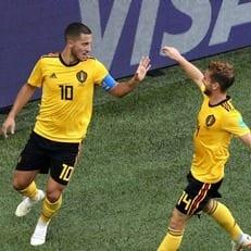 Эден Азар набрал 25 очков по системе гол+пас в последних 25 матчах за Бельгию