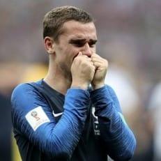 Антуан Гризманн - лучший игрок финала Франция - Хорватия