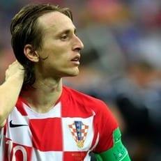 Лука Модрич - лучший игрок чемпионата мира 2018 года