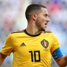 Эден Азар признан лучшим игроком матча Бельгия - Англия