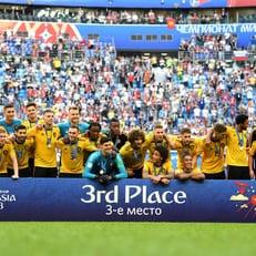 Бельгия впервые заняла третье место на ЧМ