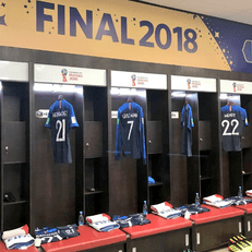 Стартовые составы Франции и Хорватии на финал ЧМ-2018