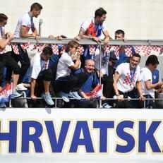 Сборная Хорватии прибыла в Загреб после ЧМ-2018