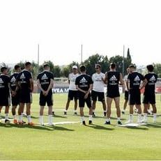"""Лопетеги провел свою первую тренировку в """"Мадриде"""""""