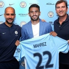 """Рияд Марез провел первый матч за """"Манчестер Сити"""""""